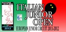 Italian Junior Open 2012